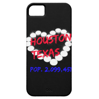Candle Heart Design For Houston, Texas Case For The iPhone 5