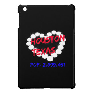 Candle Heart Design For Houston, Texas iPad Mini Case