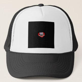 Candle Heart Design For North Dakota State Trucker Hat