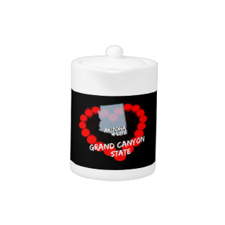 Candle Heart Design For The State of Arizona