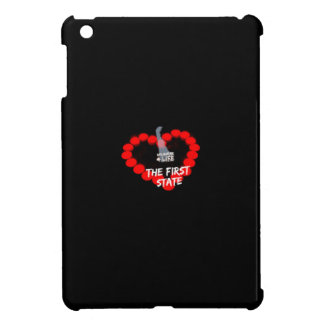 Candle Heart Design For The State of Delaware iPad Mini Covers