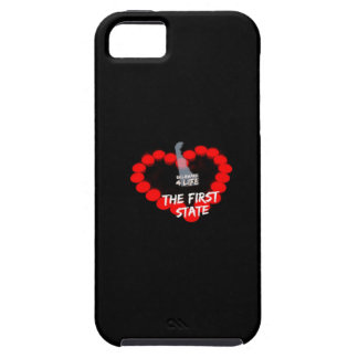 Candle Heart Design For The State of Delaware iPhone 5 Cover