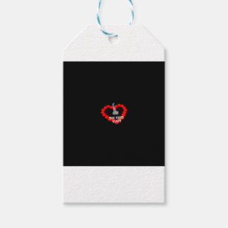 Candle Heart Design For The State of Delaware Pack Of Gift Tags