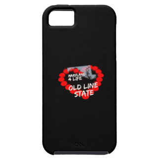 Candle Heart Design For The State of Maryland iPhone 5 Case