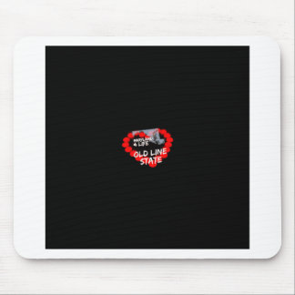 Candle Heart Design For The State of Maryland Mouse Pad