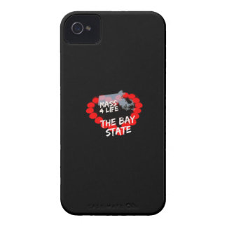 Candle Heart Design For The State of Massachusetts iPhone 4 Cover