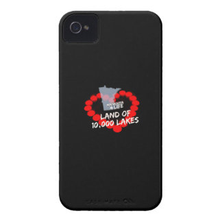 Candle Heart Design For The State of Minnesota iPhone 4 Cases