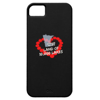 Candle Heart Design For The State of Minnesota iPhone 5 Covers