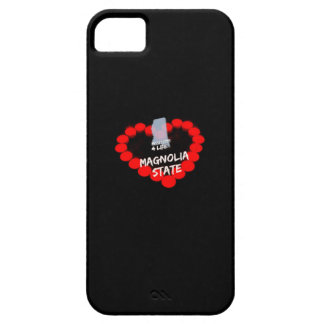 Candle Heart Design For The State of Mississippi iPhone 5 Cover