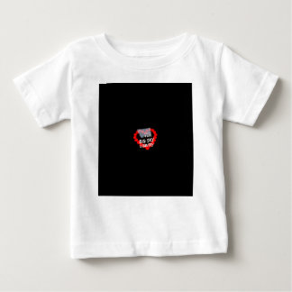 Candle Heart Design For The State of Montana Baby T-Shirt