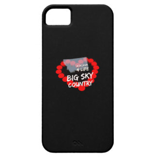 Candle Heart Design For The State of Montana Case For The iPhone 5