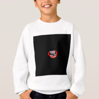 Candle Heart Design For The State of Montana Sweatshirt