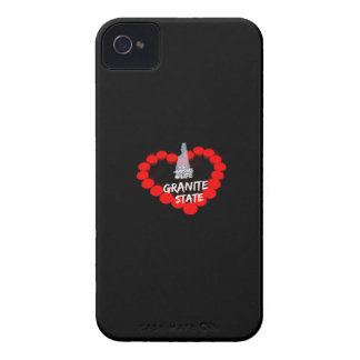 Candle Heart Design For The State of New Hampshire iPhone 4 Case-Mate Cases