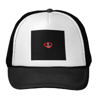 Candle Heart Design For The State of New Jersey Trucker Hat