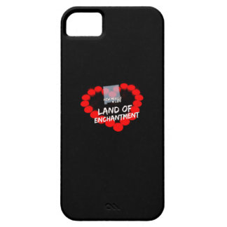 Candle Heart Design For The State of New Mexico iPhone 5 Cases