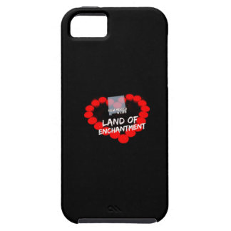 Candle Heart Design For The State of New Mexico iPhone 5 Covers