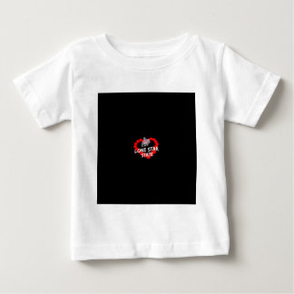 Candle Heart Design For The State of Texas Baby T-Shirt