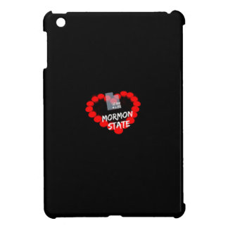Candle Heart Design For The State of Utah Case For The iPad Mini