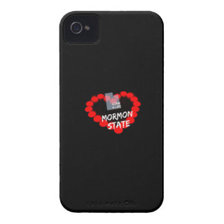 Candle Heart Design For The State of Utah Case-Mate iPhone 4 Cases