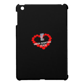 Candle Heart Design For The State of Vermont iPad Mini Cases