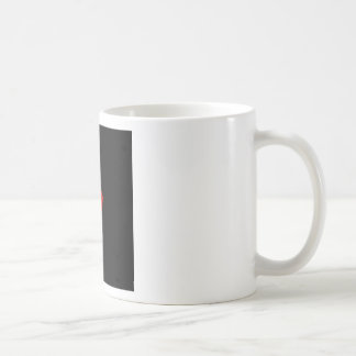 Candle Heart Design For The State of Wyoming Coffee Mug