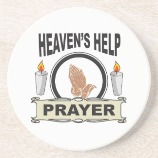 candle heaven help coaster