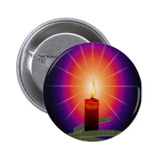 Candle Image 2 Inch Round Button