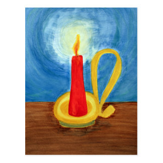 Candle in the Dark Postcard