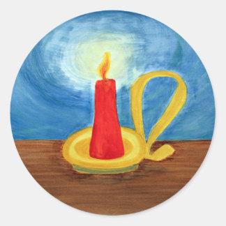 Candle in the Dark Sticker