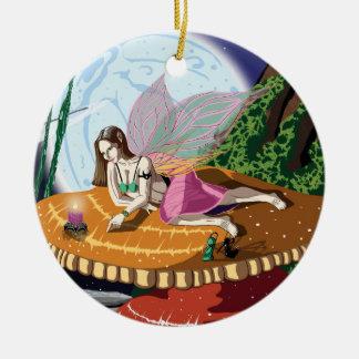 Candle Light Fairy Pendant / Ornament