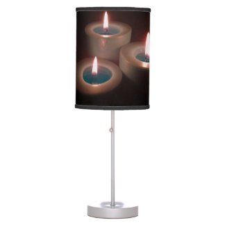 candle light table lamps