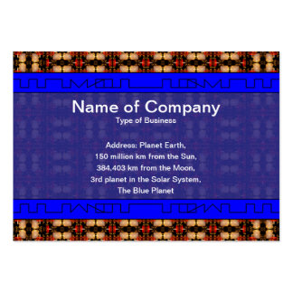 Candle Lights Grid Large Business Cards (Pack Of 100)
