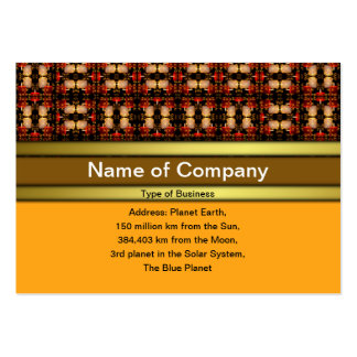 Candle Lights Grid Large Business Card