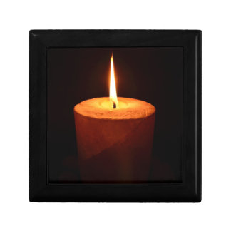 Candle lit Gift Box