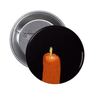 candle melting 2 inch round button