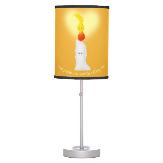 Candle n Flame Love Table Lamp