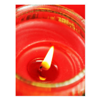 Candle Postcard