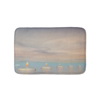 Candle steps - 3D render Bath Mat