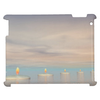 Candle steps - 3D render Case For The iPad