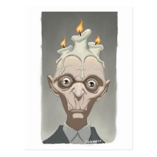 candlehead postcard