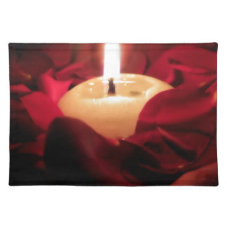 Candlelight and Roses Placemat
