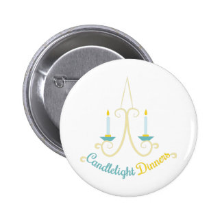 Candlelight Dinners 2 Inch Round Button