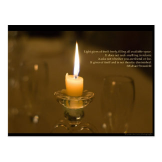 Candlelight Post Card