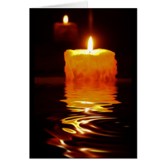 Candlelight Reflections Card