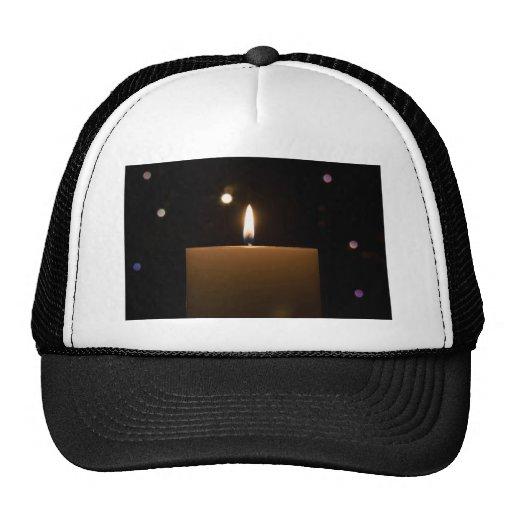 Candlelight Romance Love Destiny Glow Trucker Hats