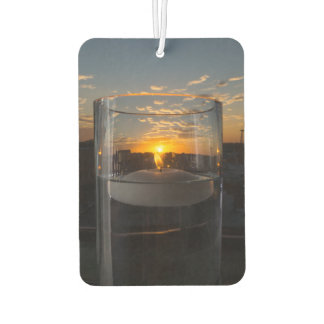 Candlelight Sunset Air Freshener