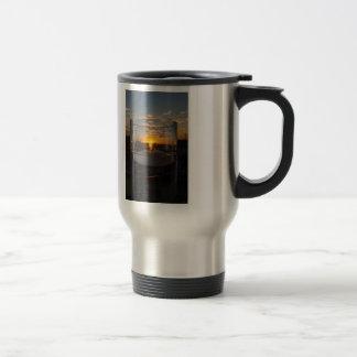 Candlelight Sunset Travel Mug