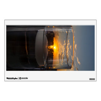 Candlelight Sunset Wall Sticker