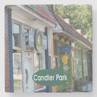 Candler Park Street View, Atlanta, 30307, Coaster Stone Beverage Coaster