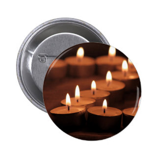 Candles 2 Inch Round Button